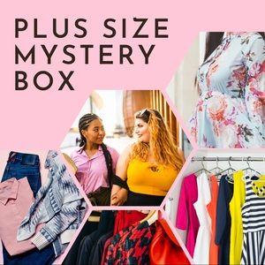 Plus Size Mystery Box Tops dresses pants